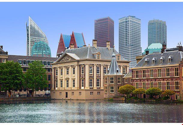 Binnenhof Palace Dutch Parliament In The Hague Den Haag