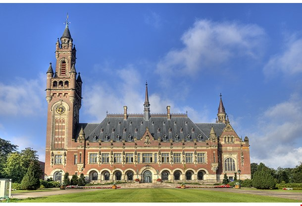 The Peace Palace International Court Of Justice In The Hague