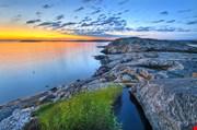 Landscape-at-sunset-gotheborg-Landscape At Sunset Gotheborg