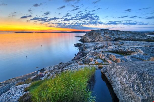 Landscape At Sunset Gotheborg