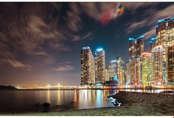 Cityscape Of Busan South Korea