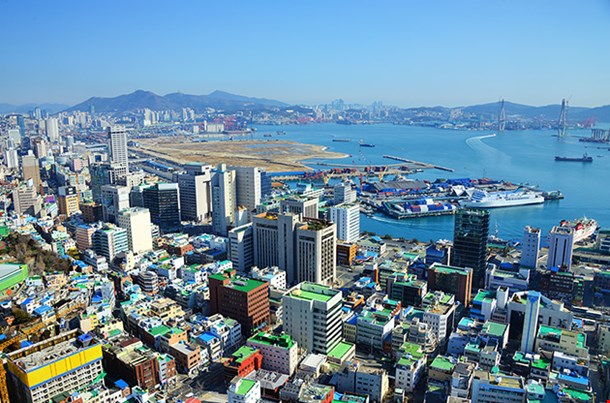 Downtown Cityscape Of Busan