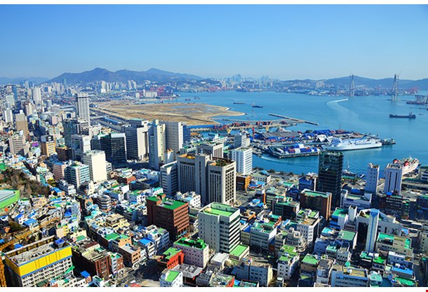 Downtown Cityscape Of Busan