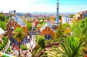 park-guell-barcelona-spain-Park Guell Barcelona Spain