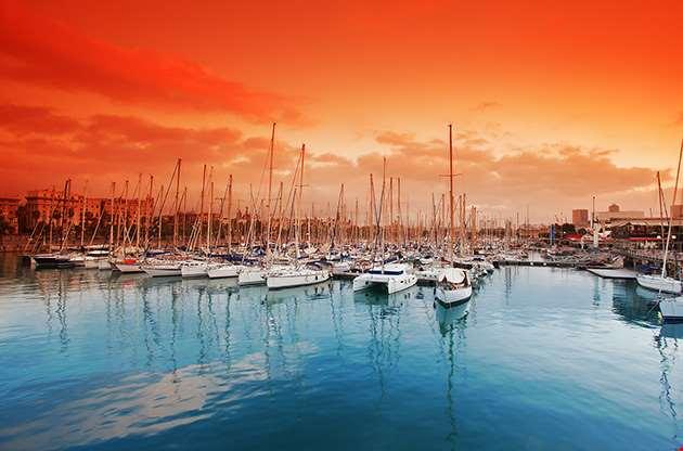 port-vell-marina-in-barcelona-Port Vell Marina In Barcelona