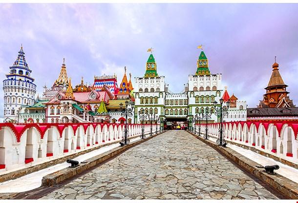 Izmailovsky Kremlin Bridge Moscow