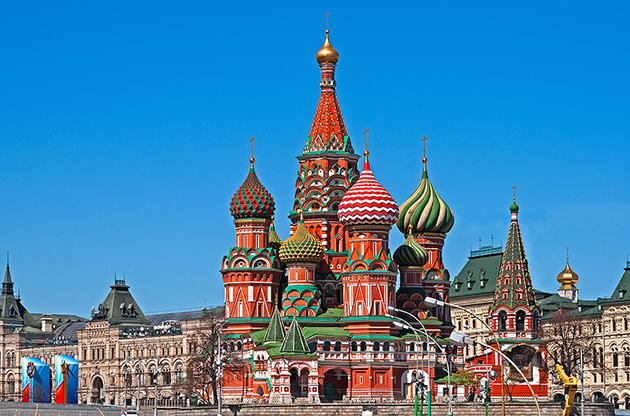 moscow-red-square-st-basil-s-cathedral-Moscow Red Square St Basil's Cathedral