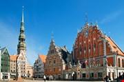 saint-peter-church-and-house-of-the-blackheads-riga-Saint Peter Church And House Of The Blackheads Riga