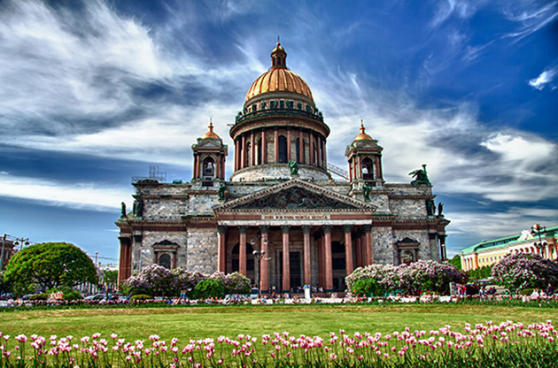 saint-isaac-cathedral-in-saint-petersburg-russia-Saint Isaac Cathedral In Saint Petersburg Russia