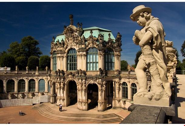 Der Dresdner Zwinger Palace