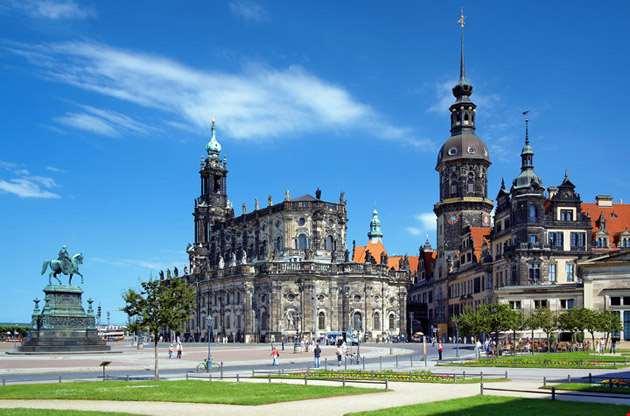 monument-to-king-john-of-saxony-catholic-church-dresden-castle-Monument to King John Of Saxony Catholic Church Dresden Castle