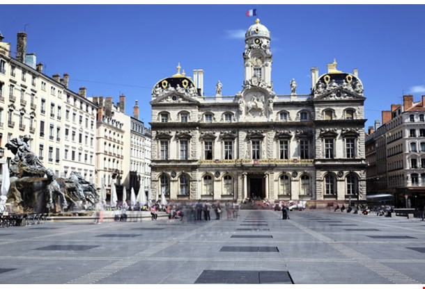 Terreaux Square in Lyon