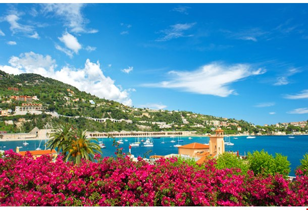 French Riviera Near Nice