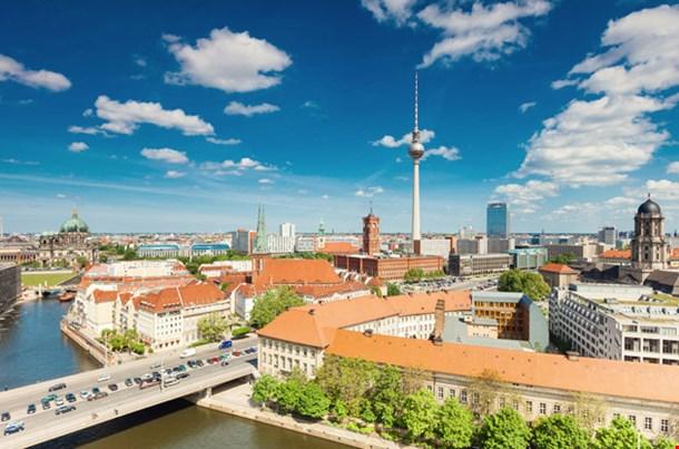 Berlin Skyline City Panorama