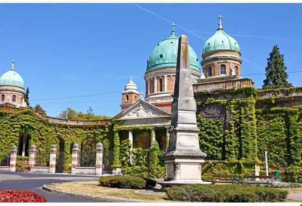 Mirogoj Cemetery and Church ochrist