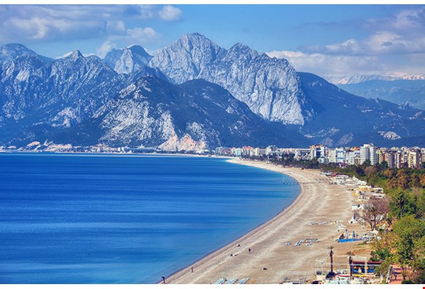 Konyaalti Beach Antalya Turkey