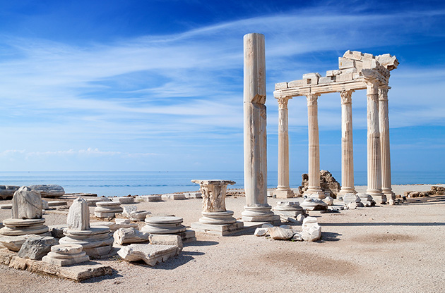 temple-of-apollo-ancient-ruins-antalya-turkey-Temple Of Apollo Ancient Ruins Antalya Turkey