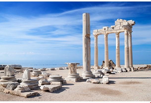 Temple Of Apollo Ancient Ruins Antalya Turkey