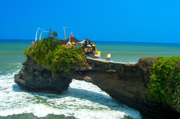 Coast Near Tanah Lot Bali