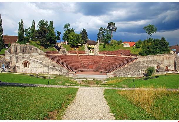 Augusta Raurica Roman Archaeological Site Basel