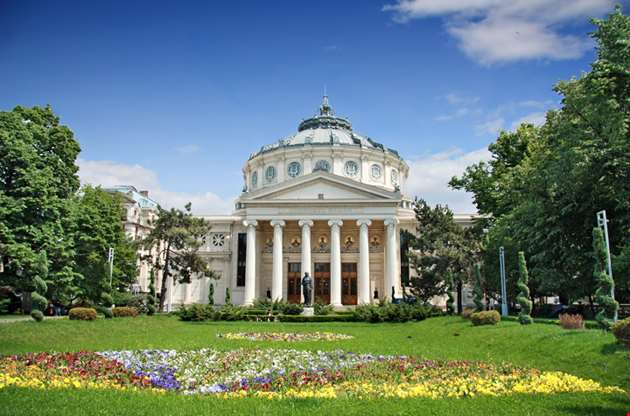 romanian-athenaeum-is-a-concert-hall-in-the-center-of-bucharest-Romanian Athenaeum Is A Concert Hall In The Center Of Bucharest