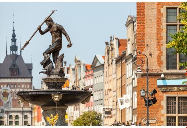 Poland Gdansk City In Pomerania Region