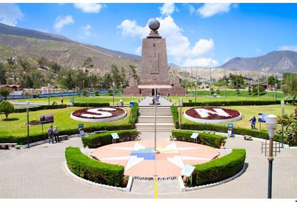 Monument Mitad Del Mundo Near Quito