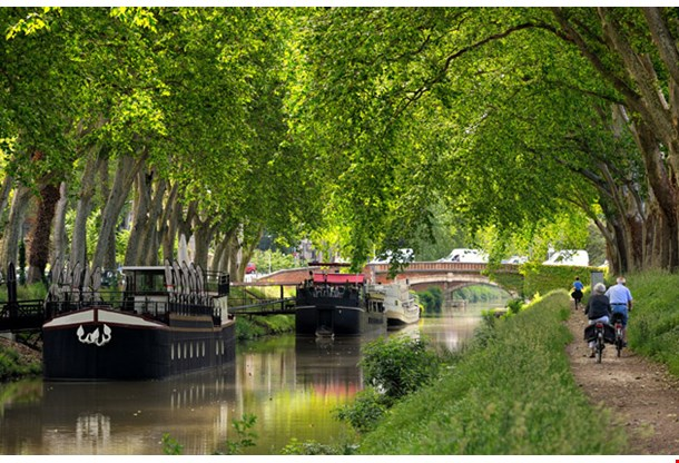 Walk Along the Canal of Midi in Toulouse