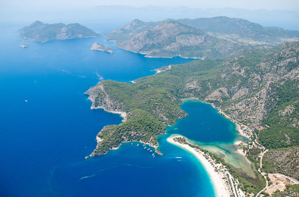 Oludeniz From The Paraglide