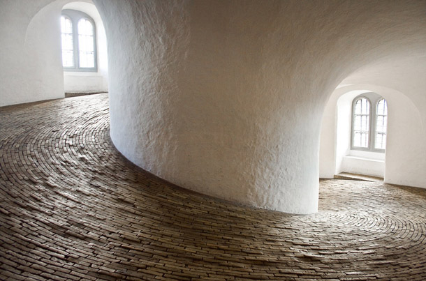 The Round Tower Inside